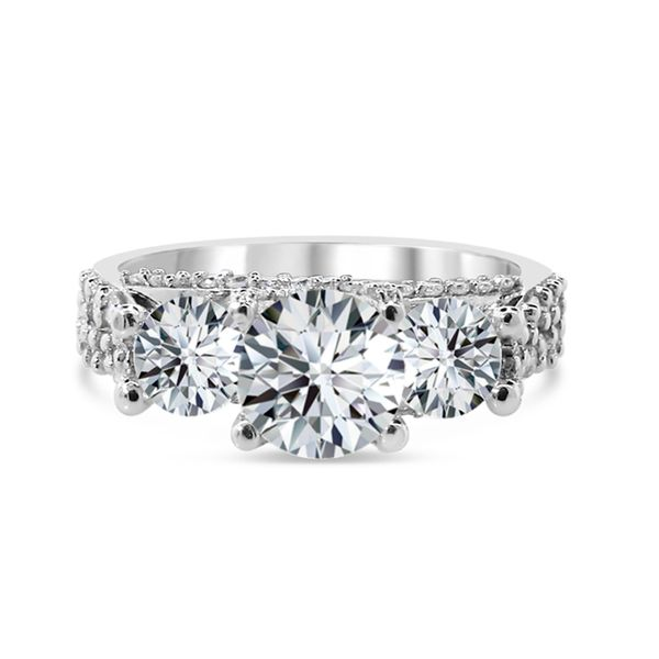 Van Adam's Collection 14K White Gold  Diamond Engagement Ring Van Adams Jewelers Snellville, GA