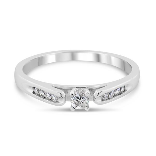14k Diamond Promise Ring Van Adams Jewelers Snellville, GA