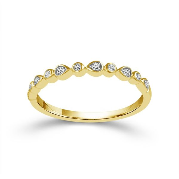 10K Yellow Gold Diamond Wedding Band Van Adams Jewelers Snellville, GA