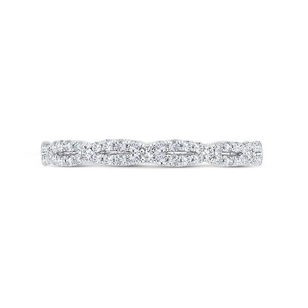 14K White Gold Diamond Wedding Band Van Adams Jewelers Snellville, GA