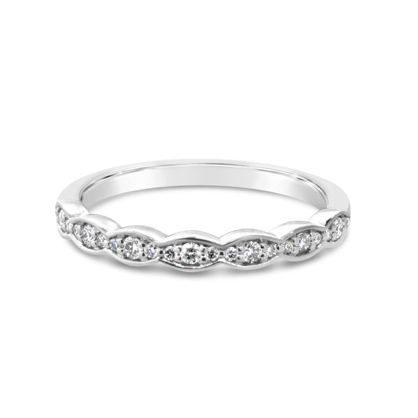 Van Adam's Collection 14K White Gold Diamond Wedding Band Van Adams Jewelers Snellville, GA