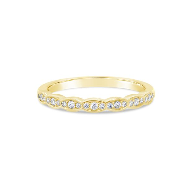 Van Adam's Collection 14K Yellow Gold Diamond Wedding Band Van Adams Jewelers Snellville, GA