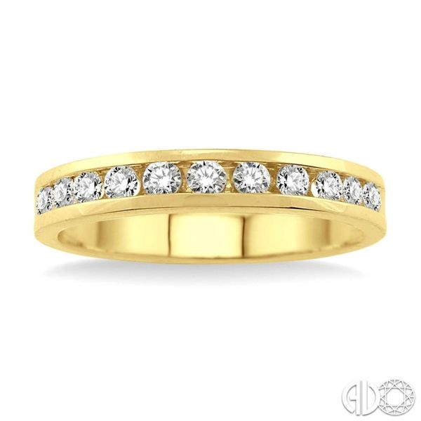Channel Set Diamond Wedding Band Van Adams Jewelers Snellville, GA
