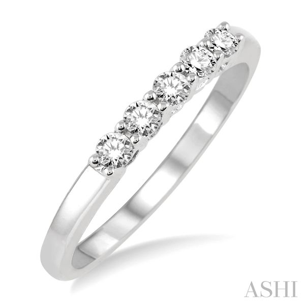 14K White Gold Diamond Band Van Adams Jewelers Snellville, GA