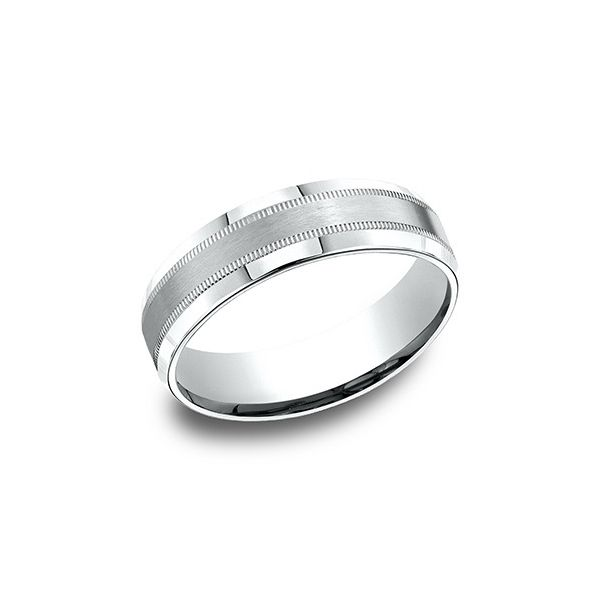 Men's 14K White Gold Wedding Band Van Adams Jewelers Snellville, GA