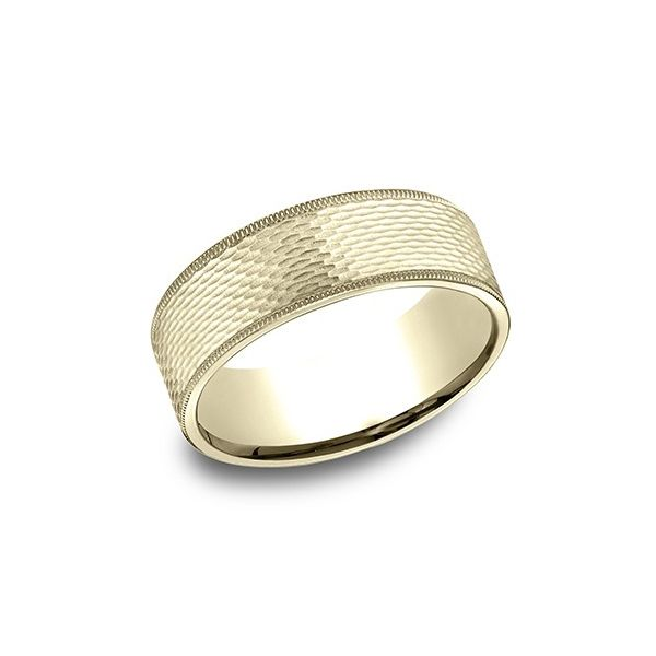 Men's 14K Yellow Gold Wedding Band Van Adams Jewelers Snellville, GA