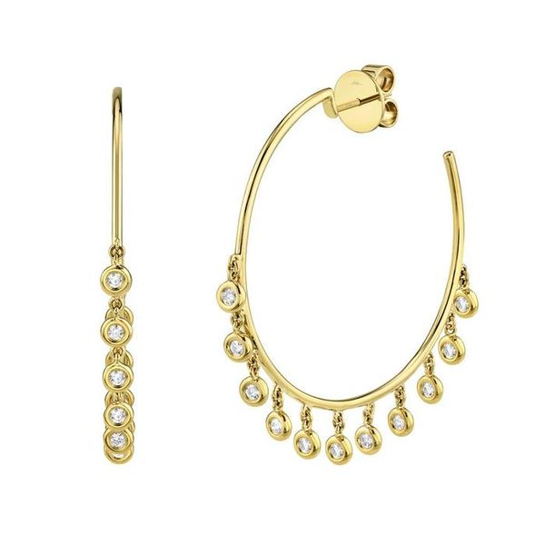 Diamond Shaker Hoops Van Adams Jewelers Snellville, GA