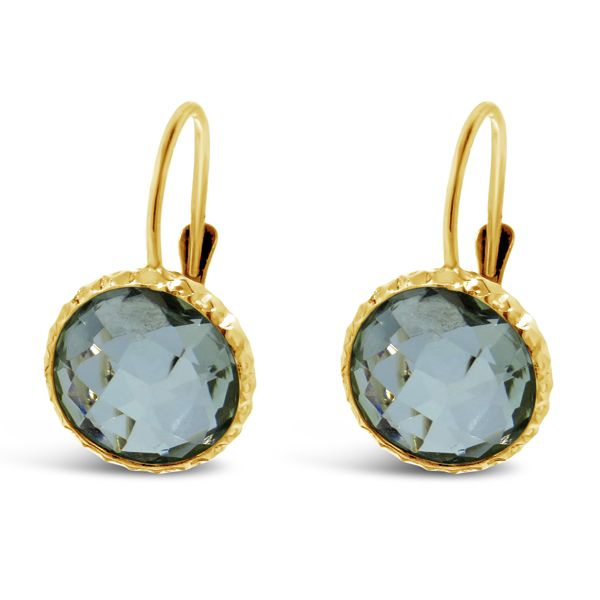 Gold Colored Gemstone Earrings Van Adams Jewelers Snellville, GA