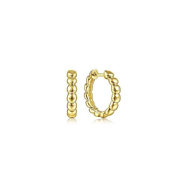 Gold Hoop Earrings Van Adams Jewelers Snellville, GA