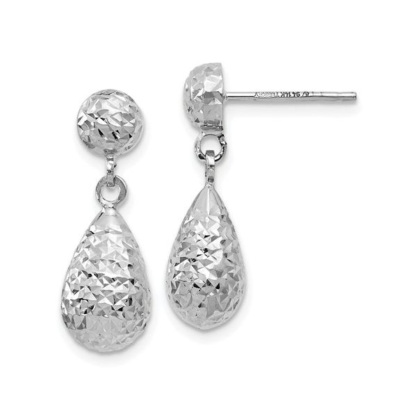 Gold Dangle Earrings Van Adams Jewelers Snellville, GA