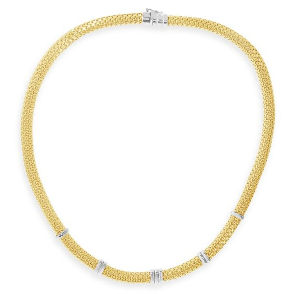 Lady's Gold Fashion Necklace Van Adams Jewelers Snellville, GA