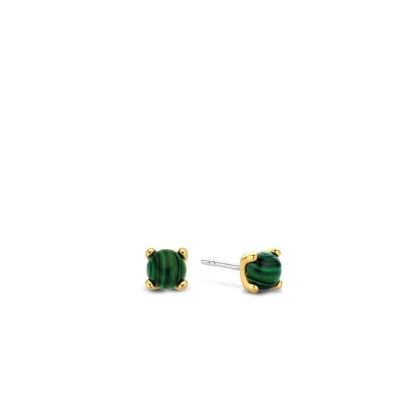 Malachite Stud Earrings Van Adams Jewelers Snellville, GA