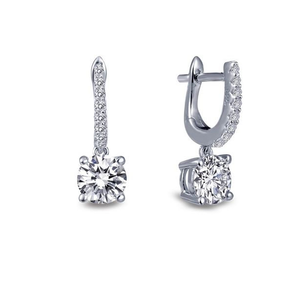 Silver drop Earrings Van Adams Jewelers Snellville, GA