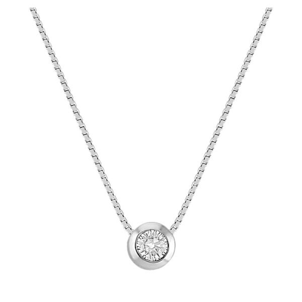 Solitaire Necklace Van Adams Jewelers Snellville, GA