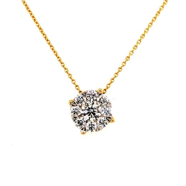14K Yellow Gold Diamond Pendant Van Adams Jewelers Snellville, GA