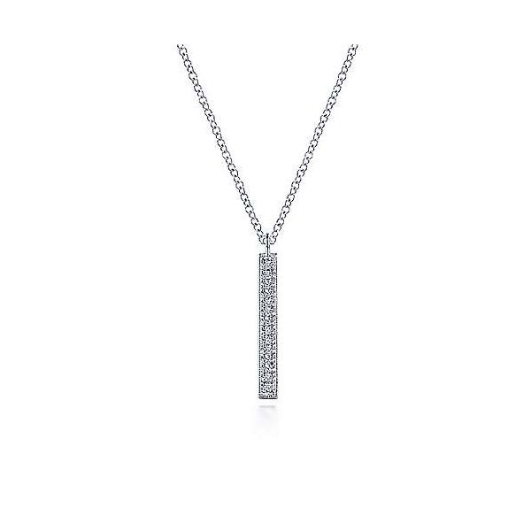 14K White Gold Diamond Pendant Van Adams Jewelers Snellville, GA