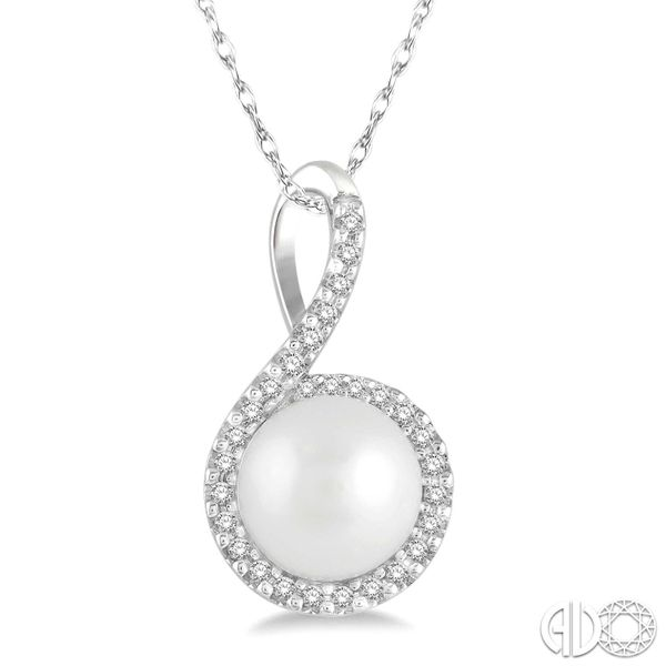 Pearl and Diamond Necklace Van Adams Jewelers Snellville, GA