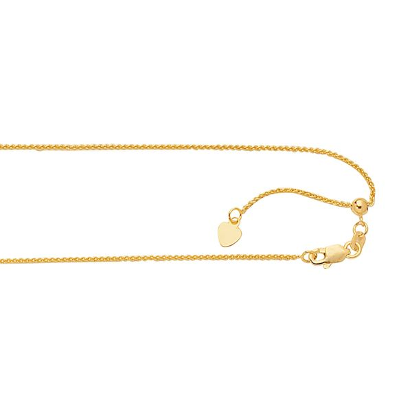 Gold Adjustable Chain Van Adams Jewelers Snellville, GA