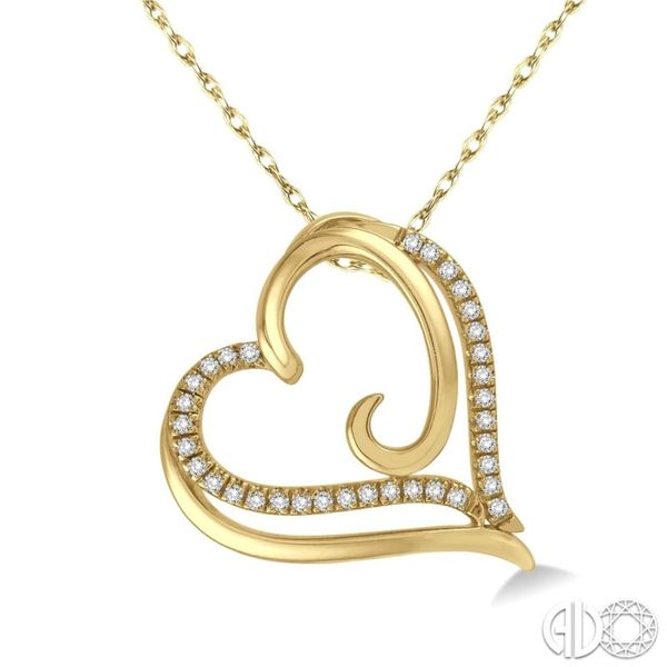 Diamond Heart Pendant Van Adams Jewelers Snellville, GA