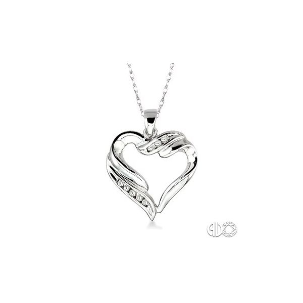 Diamond Heart Necklace Van Adams Jewelers Snellville, GA