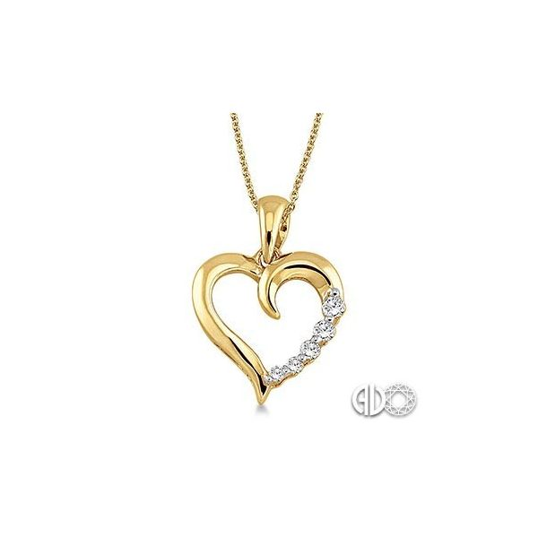 Journey Heart Shape Diamond Pendant Van Adams Jewelers Snellville, GA