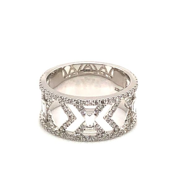 Van Adam's Collection 14K White Gold Diamond Fashion Ring Van Adams Jewelers Snellville, GA