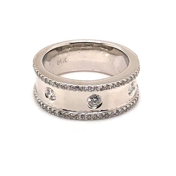 14K White Gold Diamond Fashion Ring Van Adams Jewelers Snellville, GA