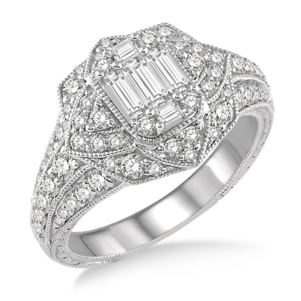 Diamond and Baguette Fashion Ring Van Adams Jewelers Snellville, GA
