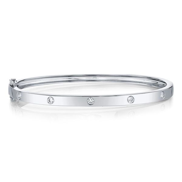 Diamond Bangle Bracelet Van Adams Jewelers Snellville, GA