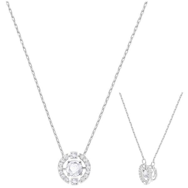 Swarovski Dance Round Necklace Van Adams Jewelers Snellville, GA
