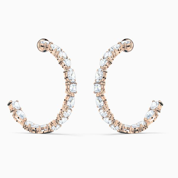 Swarovski Hoop Earrings Van Adams Jewelers Snellville, GA