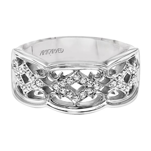 Lady's Contemporary Wedding Band Van Scoy Jewelers Wyomissing,