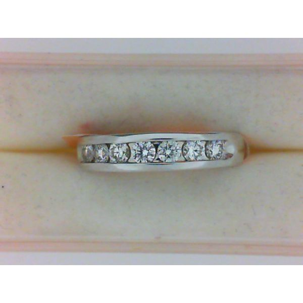 Lady's Channel Wedding Band Van Scoy Jewelers Wyomissing,