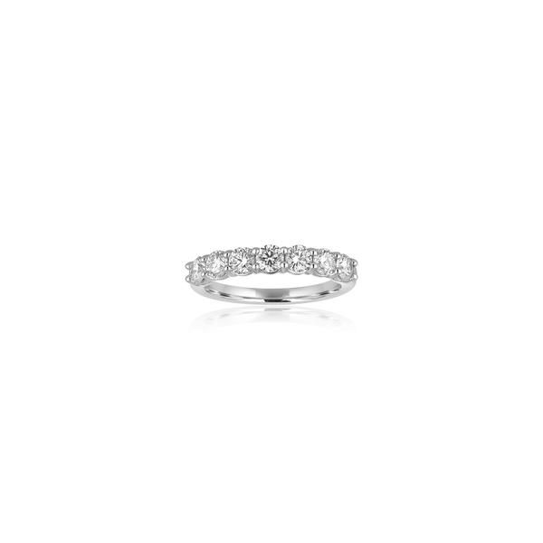 DIAMOND ANNIVERSARY RING | DIAMOND BAND | 1 CARAT TOTAL WEIGHT | SHARED PRONG | 14 KARAT WHITE GOLD Van Scoy Jewelers Wyomissing,