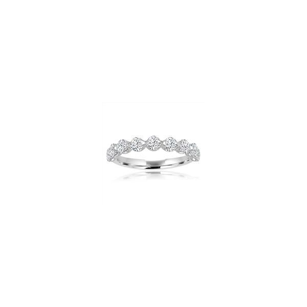 DIAMOND ANNIVERSARY RING | DIAMOND BAND | 14 KARAT WHITE GOLD | 1/2 CARAT TOTAL WEIGHT Van Scoy Jewelers Wyomissing, PA