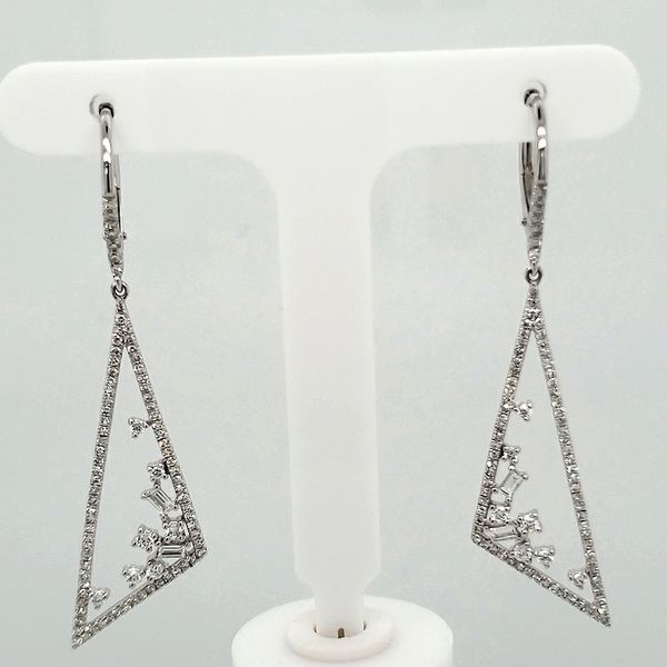 Lady's Dangle Earrings Van Scoy Jewelers Wyomissing,