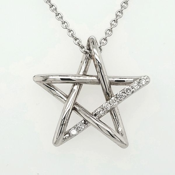 Lady's Star Pendant Van Scoy Jewelers Wyomissing,