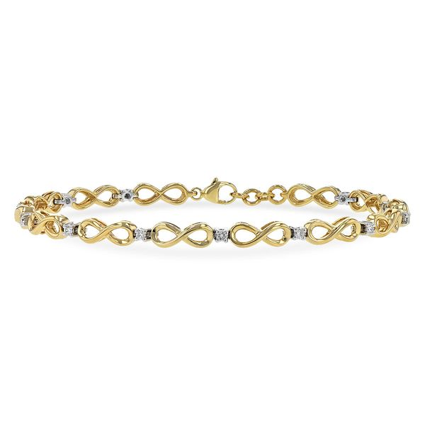DIAMOND BRACELET | 14 KARAT YELLOW GOLD Van Scoy Jewelers Wyomissing, PA