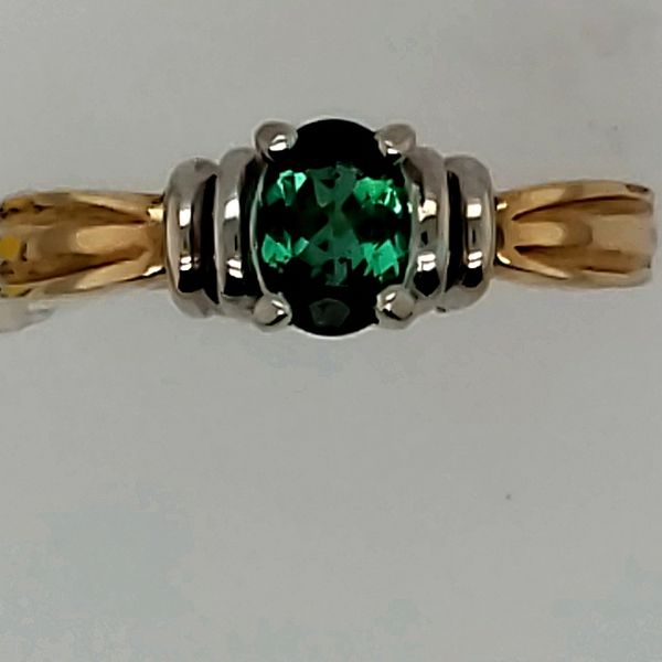 Lady's Green Tourmaline Ring Van Scoy Jewelers Wyomissing,