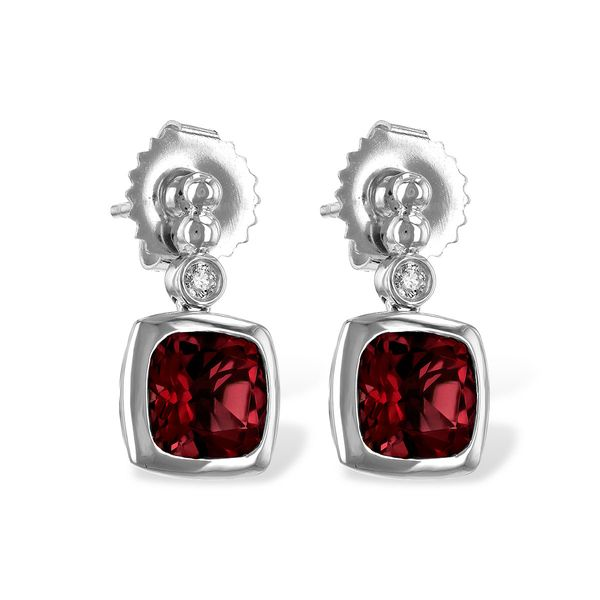 Garnet Dangle Earrings Van Scoy Jewelers Wyomissing,