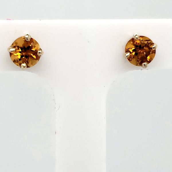 Citrine Stud Earrings Van Scoy Jewelers Wyomissing,