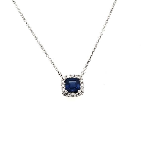 Diamond & Gemstone pendant Van Scoy Jewelers Wyomissing,