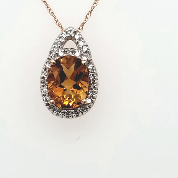 COLORED GEMSTONE PENDANT Van Scoy Jewelers Wyomissing,