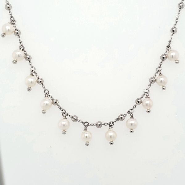 PEARL NECKLACE - STERLING SILVER Van Scoy Jewelers Wyomissing,