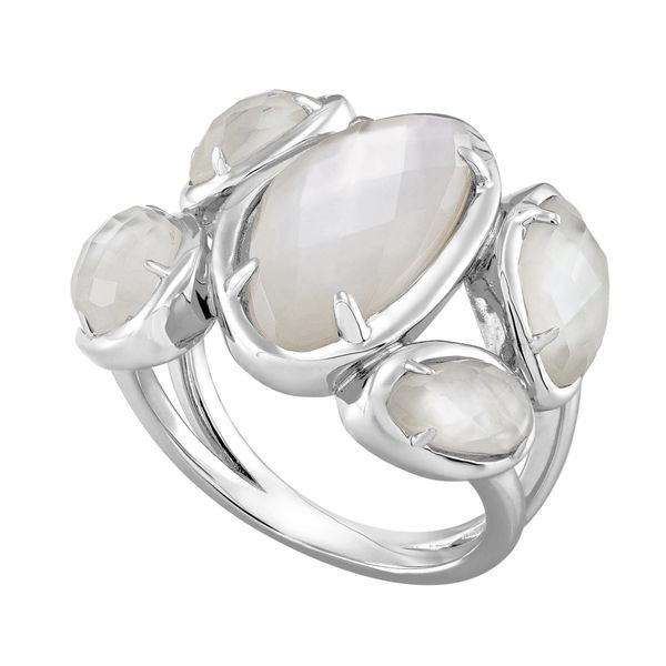 STERLING SILVER RING | HONORA | MOTHER OF PEARL Van Scoy Jewelers Wyomissing,