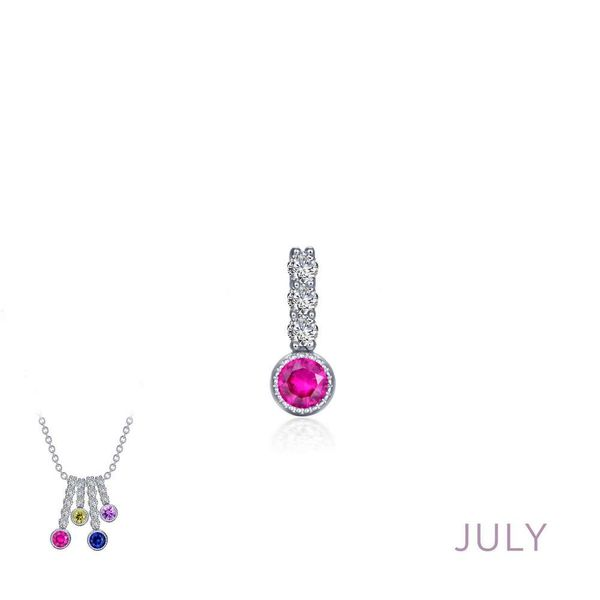 LAFONN JULY BIRTH CHARM Van Scoy Jewelers Wyomissing,