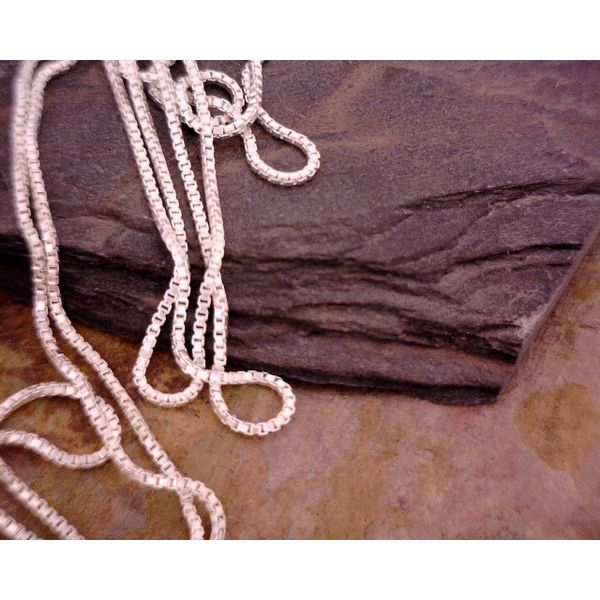 Sterling 1mm Box Chain 36