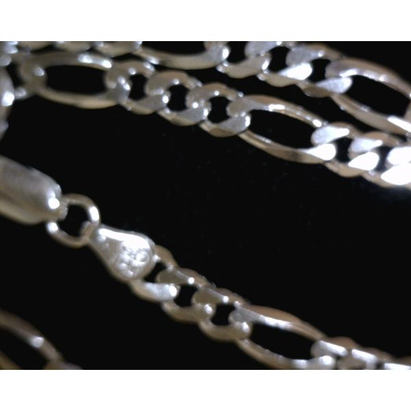 Sterling Silver Figaro Chain Vulcan's Forge LLC Kansas City, MO