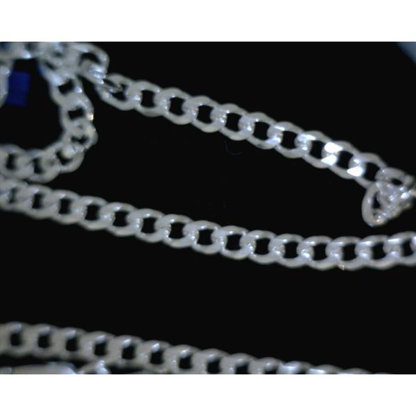 Sterling Silver 6 Sided Curb Chain Vulcan's Forge LLC Kansas City, MO