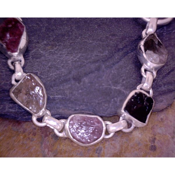 bracelet with stones Vulcan's Forge LLC Kansas City, MO